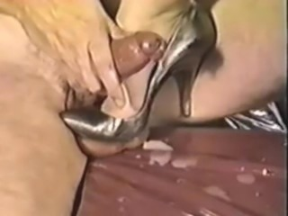 Shoe fuck and Ballbusting