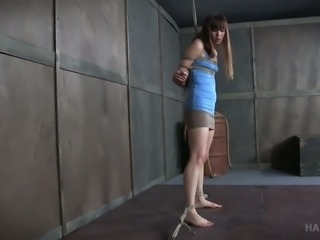Sweet girl Alexa Nova is bounded and tortured by her mentor