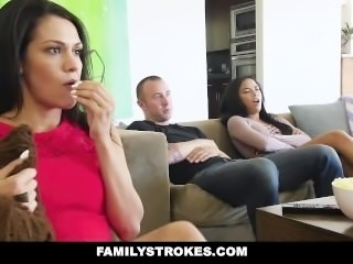 FamilyStrokes - Fucked My Bro During Movie Night