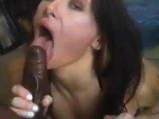 Horny Stripper sucks bbc dick for cum