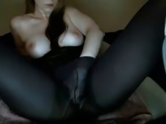 Stockings, Multiple, Pantyhose-squirt