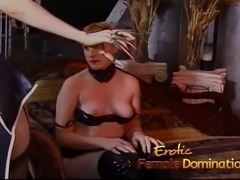 When these two latex-clad bimbos got horny, they went on to pleasure their...