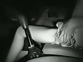 Babe Fucks Her Car