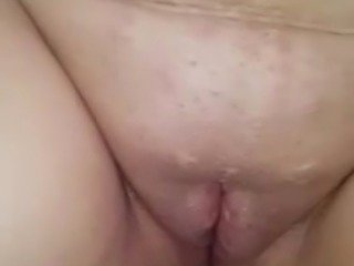 Pussy wooden spoon spanking and pain