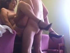 Fucking my older bitch standing