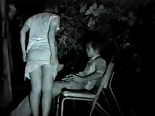 Asian couple fuck on nightcam