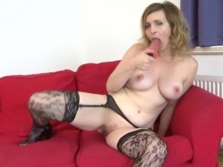 There aren't many grannies that love masturbation so much as she does!
