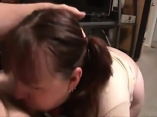 Wife that is Tubby gets assfucked