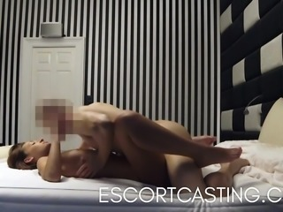 Fucking Skinny Escort In My Flat And Filmed