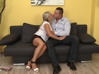 Dirty mature mothers fuck young sons