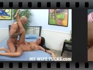 His huge cock totally fills me up
