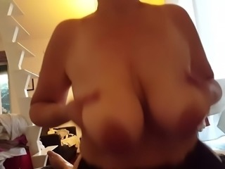 Sex with mature mom. saggy tits