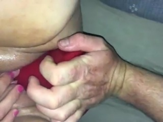 Ozcouple pussy anal fist