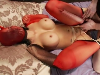jasmine jae and her nylon fetish