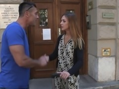 Bitches Abroad - German babe Lullu Gun gets fucked on her first trip to Budapest