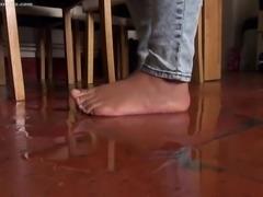Blue jeans accident