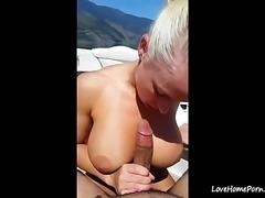 Hot MILF gets fucked on the boat