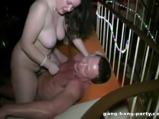 19-year-old chubby girl fucks in a porn movie theatre