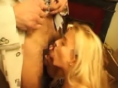 French Blonde with Arab Guy
