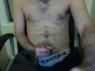 Me jerking off and cumming