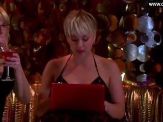 Kaley Cuoco - Bikini, Big Boobs Cleavage + Sexy Scenes The Big Bang Theory