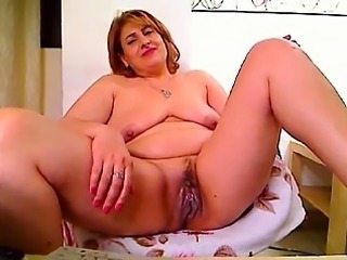 Maryann from 1fuckdatecom - Red rusia mature has big orgasm