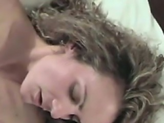 Milf first-ever cum swallow