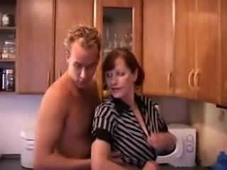Dutch Mature Gloria 52 yo with young lover