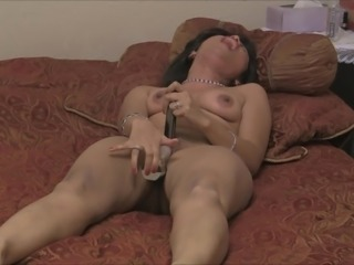 Naked Desi Wife Playing with Toys