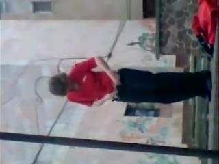 Russian woman strips