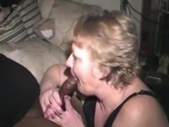 Granny Sucks him off 3 times