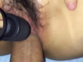 Japanese pussy fuck close up