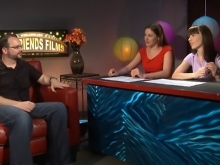 This is a cool interview show featuring two kinky and tasty lesbians