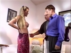 Husband Watches His MILF Wife Fucked Hardcore by Another Guy