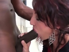 La Cochonne - French mature gets drilled in the ass by BBC