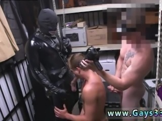 Straight bulge movies xxx gay Dungeon tormentor with a gimp