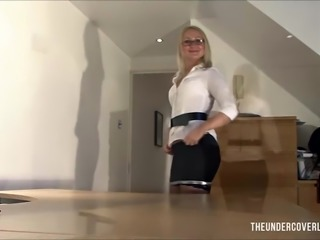 Special Delivery for the Milf boss