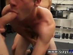 Gay male clips straight Fitness trainer gets anal banged