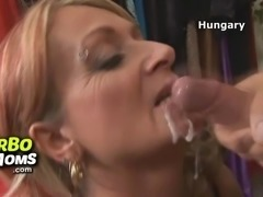 Hot euro milf doctor Jenny fucking young patient