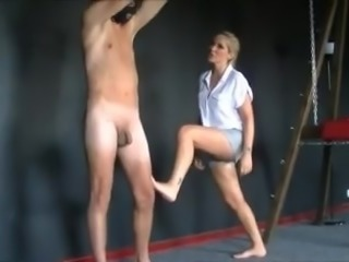 Female Domination,Female Kicking
