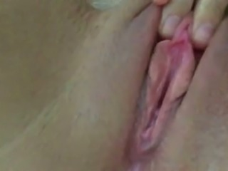Sweet amateur close-up view of my friend's Turkish wife's cunt