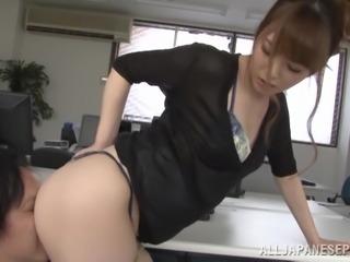 Yummy Miyuki Yokoyam Goes Really Hardcore In The Office