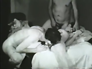 great threesome from latest 40s part 1