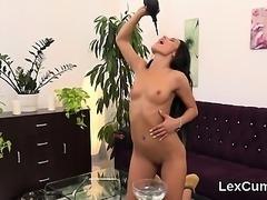 Stellar czech idol lexi dona rubs and orgasms