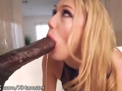 HardX AJ AppleGate Huge Black Cock Up Her Ass