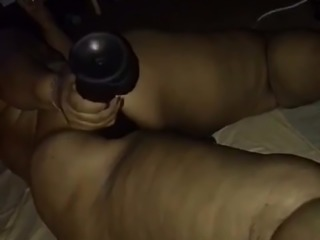 Big Butt Magic with  RAMBONE  dildo in ASS PT.1