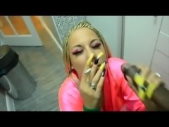 SMOKING BLOWJOB LONG NAILS