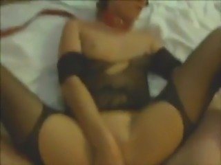 Hot masked russian anal slave.