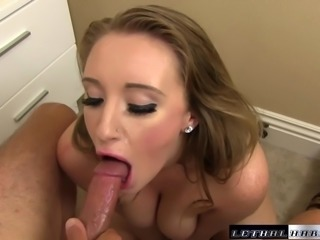 Pornstar Harley Jade gets her huge ass spread and pussy fuck