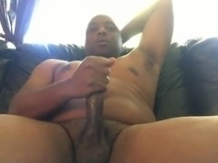 POV Me Jacking Off My Black Dick!!! POV2016